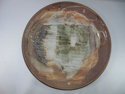 Signed Studio Art Pottery Wall Hanging Handcrafted 1989 #1