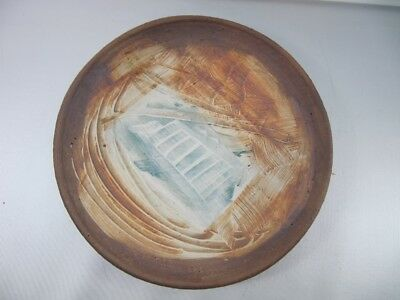 Signed Studio Art Pottery Wall Hanging Handcrafted 1989 #4