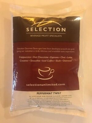 Selection Unlimited - Peppermint Twist Cappuccino, 6 - 2 Lb Bags