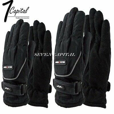 Mens Womens Winter Thermal Warm Ski Snowbaord Driving Sport Work One Size Gloves
