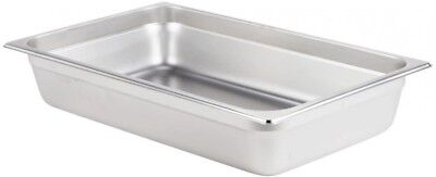 Restaurant Buffet Full Size Stainless Steel Steam Table Hotel Pan (Pack of 12)