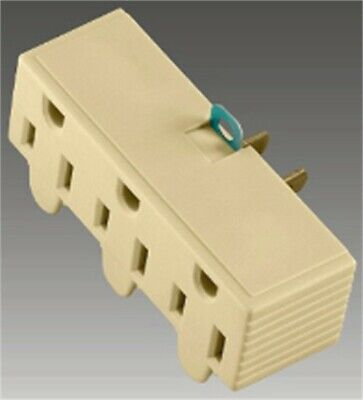 3outlet Gnd Adapt Wht Carded, PartNo BP1219W, by Cooper Wiring Devices Inc, Sing