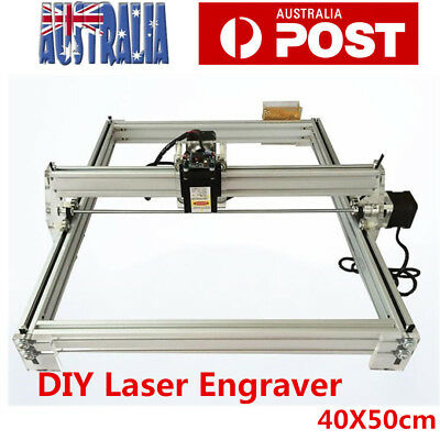 Mini DIY Laser Engraving Cutting Engraver Cutter Printer Machine 40*50cm AU Plug