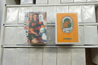 1995 Rugby Union 26 sets & 1996 Rugby Union sets of 110 cards issued by Futera