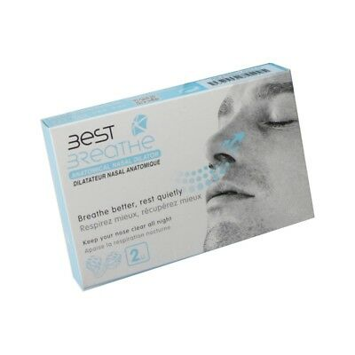 Best Breathe - Ecarteur Nasal Anti-Ronflement (par 2)
