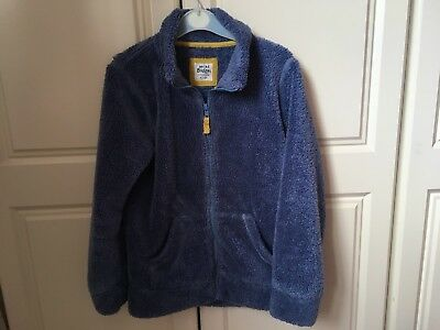 Girls MINI BODEN Zip Up Fleece Age 9-10 Years