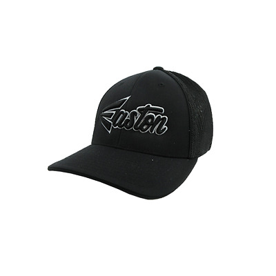 Easton Hat by Pacific (404M) All Black/Grey/Black Script SM/MD