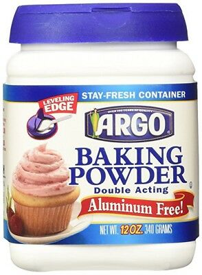 Argo Double Acting Aluminum Free Baking Powder.