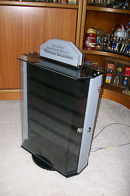 Acrylic counter  Jewelry Display Case....Rotate.....lock and key
