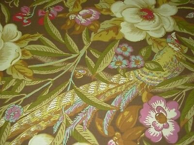 Bty Tommy Bahama Tree Top Oasis Birds Cotton Upholstery Fabric For
