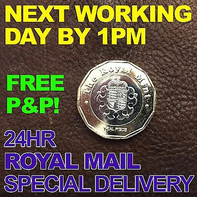 Genuine Trial Piece £1 New 2017 12 Sided One Pound coin 2015 UNC Uncirculated