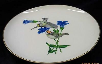 Syracuse China 'American Song Bird' Gold Crowned Kinglet Plate by Athos Menaboni