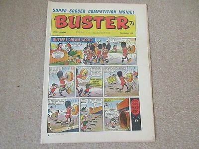BUSTER COMIC- March  7th 1970, Very  good condition