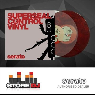 "Serato Pressings Thud Rumble x Serato Superseal 10"" (Pair)"
