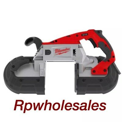 Milwaukee Portable Deep Cut Electric Band Saw With LED Light and Case 6232-21