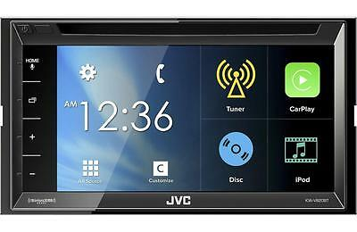 "JVC Arsenal KW-V820BT RB DVD/CD Player 6.8"" Touchscreen LCD Bluetooth Pandora"