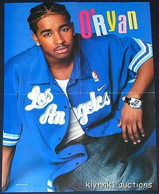 O'Ryan 5 Posters Centerfolds Lot 1207A  Usher Lil Flip Romeo Marques of IMX