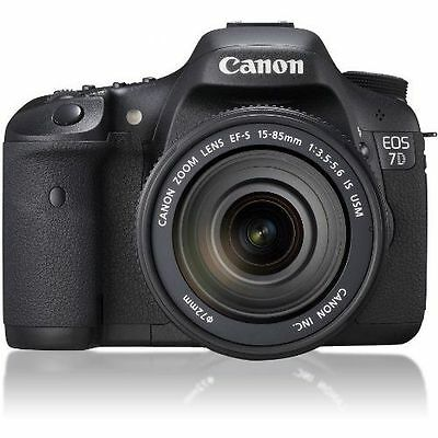 Near Mint! Canon EOS 7D with EF-S 15-85mm f/3.5-5.6 IS USM - 1 year warranty