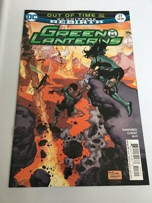 GREEN LANTERNS #27 (2017) 1ST PRINTING DC UNIVERSE REBIRTH Out Of Time Part One