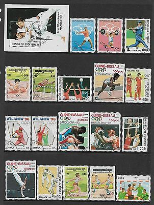 WORLD STAMPS - mixed collection, SPORT, OLYMPICS, No.2