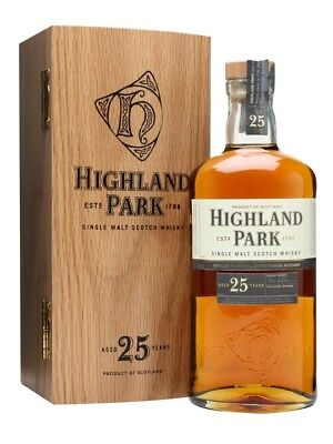 Highland Park 25 Year Old Single Malt Scotch Whisky 700ml