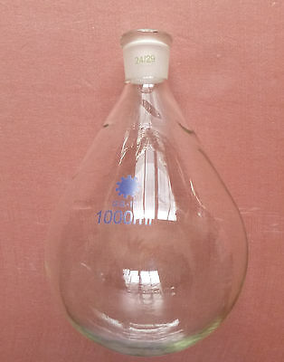 2000ml,24/29,Glass Recovery Flask,Rotary Evaporator Flask,2L,Lab Pyriform Bottle