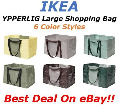 **SALE** IKEA YPPERLIG Large Reusable Eco Shopping Laundry Tote Travel Bags