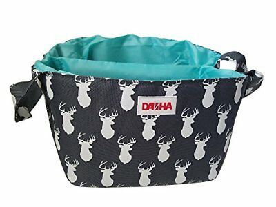 Diaper Storage Caddy By Danha – Portable Diaper Bag And Stacker With Beautifu.