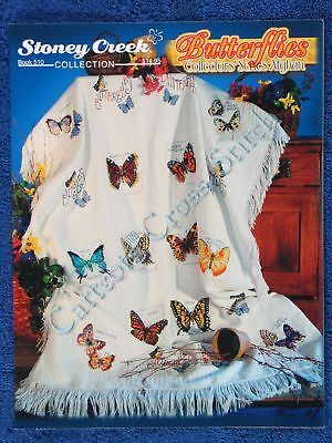 Cross Stitch Pattern Butterflies Collectors Series Butterfly Afghan Design