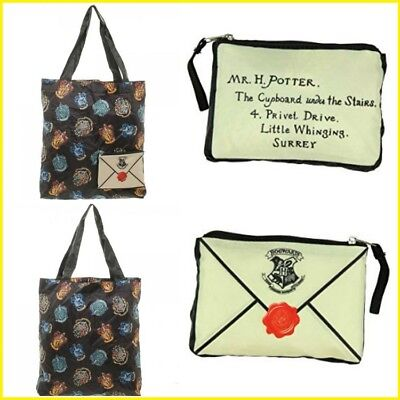 *NEW* HARRY POTTER PACKABLE TOTE BAG - FAST FREE SHIPPING from US