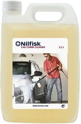Nilfisk 125300390 2.5 Litre Car Combi Cleaner - Clear