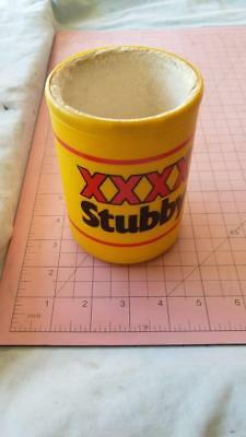 Vintage XXXX Plastic Stubby Holder.bar,beer,tools,man cave,hobbies,old,fishing.