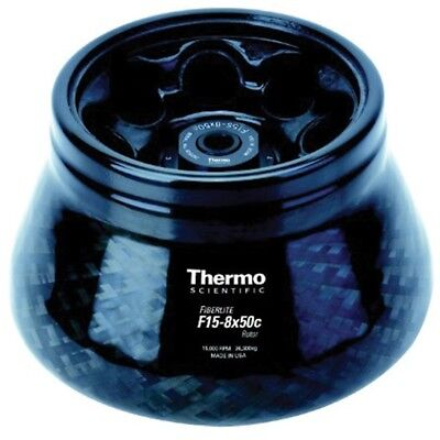 Thermo Scientific Fiberlite™ F15-8 x 50cy Fixed Angle Rotor 75003663 (New)