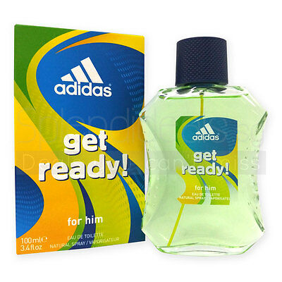 Adidas Get Ready! 100ml Man EDT Eau De Toilette Perfume