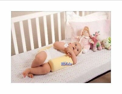 Best Baby Infant Safe Sleep Positioner Prevent Flat Head Shape Anti Roll Pillow