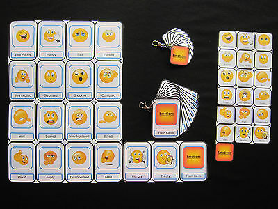 Emotions Cards -Autism/PECS/Non verbal/Early Yrs/Visual Aid/Dementia/EASL