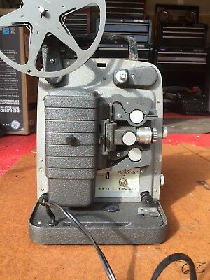 Antique Bell-Howell 8mm reel film projector case