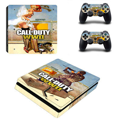 Faceplates, Decals & Stickers Video Game Accessories Cod Zombies Wwii Sticker Console Decal Playstation 4 Controller Vinyl 1 Ps4 Skin