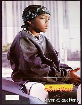 Lil Bow Wow Poster Centerfold 266A  Usher is on the back