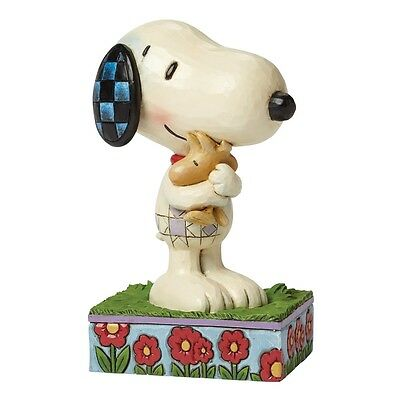 "THE PEANUTS Skulptur - ""SNOOPY & WOODSTOCK"" - Jim Shore Figur 4042377 -"