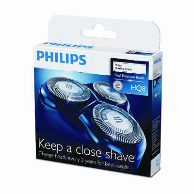 Genuine Philips HQ8/50 Replacement Shaver Heads Razor Blades Cutters HQ8