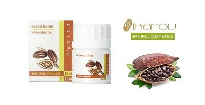 Relaxing Pure Cocoa Butter Natural Product for Face, Neck, Body Massage Hydrates