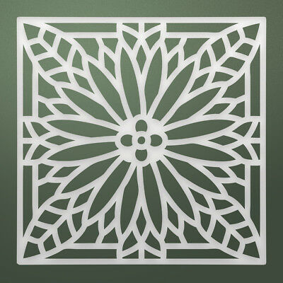 """Pack 3, Ultimate Crafts Stained Glass Die-Daisy Dreams, 2.4""""X2.4"""", Part LT157340"""