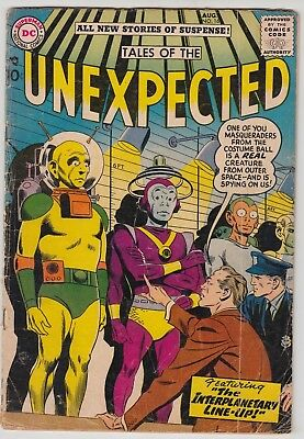 """Tales Of The Unexpected #16 Good/very Good """"thor"""" & """"loki"""" Story By Kirby!!"""
