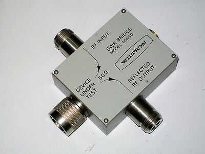 ANRITSU WILTRON 60N50 SWR bridge N male 10 mhz 2 ghz ****** FAULTY ******