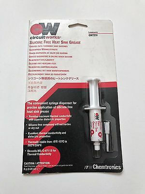 Chemtronics - CW7270 - Silicone Free Heat Sink Grease 8 g