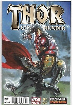 Thor: God Of Thunder #7 - Gabriele Dell Otto Variant Cover - (Grade 9.2) 2013