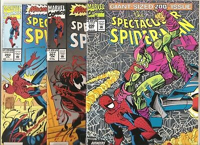 Marvel Comics  Spectacular Spider-Man  Lot of 3  issues # 200 201 & 202