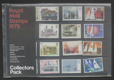 GB 1975 Royal Mail stamps Collectors pack. Year. VGC.