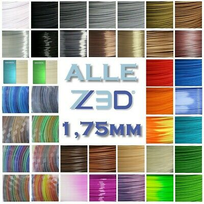 ABS PLA HIPS PETG HOLZ PVA METALL FLEX TPU NYLON PA PC CARBON 1,75mm 3D Filament